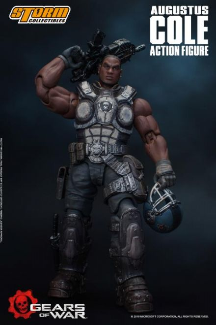 Storm Collectibles Gears of War 5 1/12 Scale Augustus Cole Action Figure